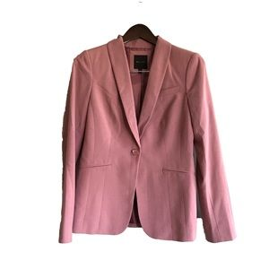 The Limited | Rose Pink Single Button Blazer
